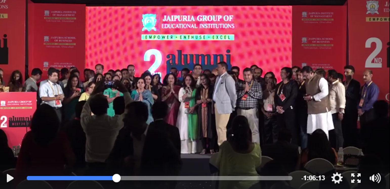 Live Stream (Recorded) of Jaipuria Alumni Meet 2017