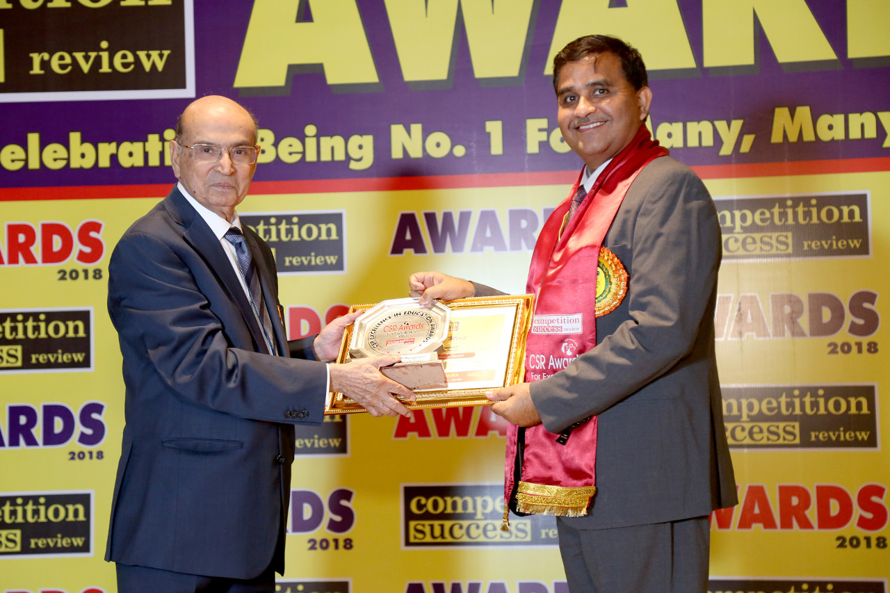 Congratulations! Jaipuria Institute of Management, Indirapuram, Ghaziabad for recieving CSR Excellence in Education Awards 2018