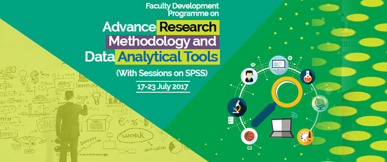 FDP on Advance Research Methodology and Data Analytical Tools